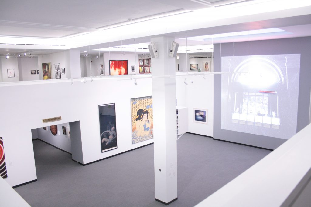 Installation view. Photo by Sixty Inches From Center.