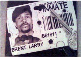 Self Portrait, Larry Brent, Jr. Image courtesy of the artist.