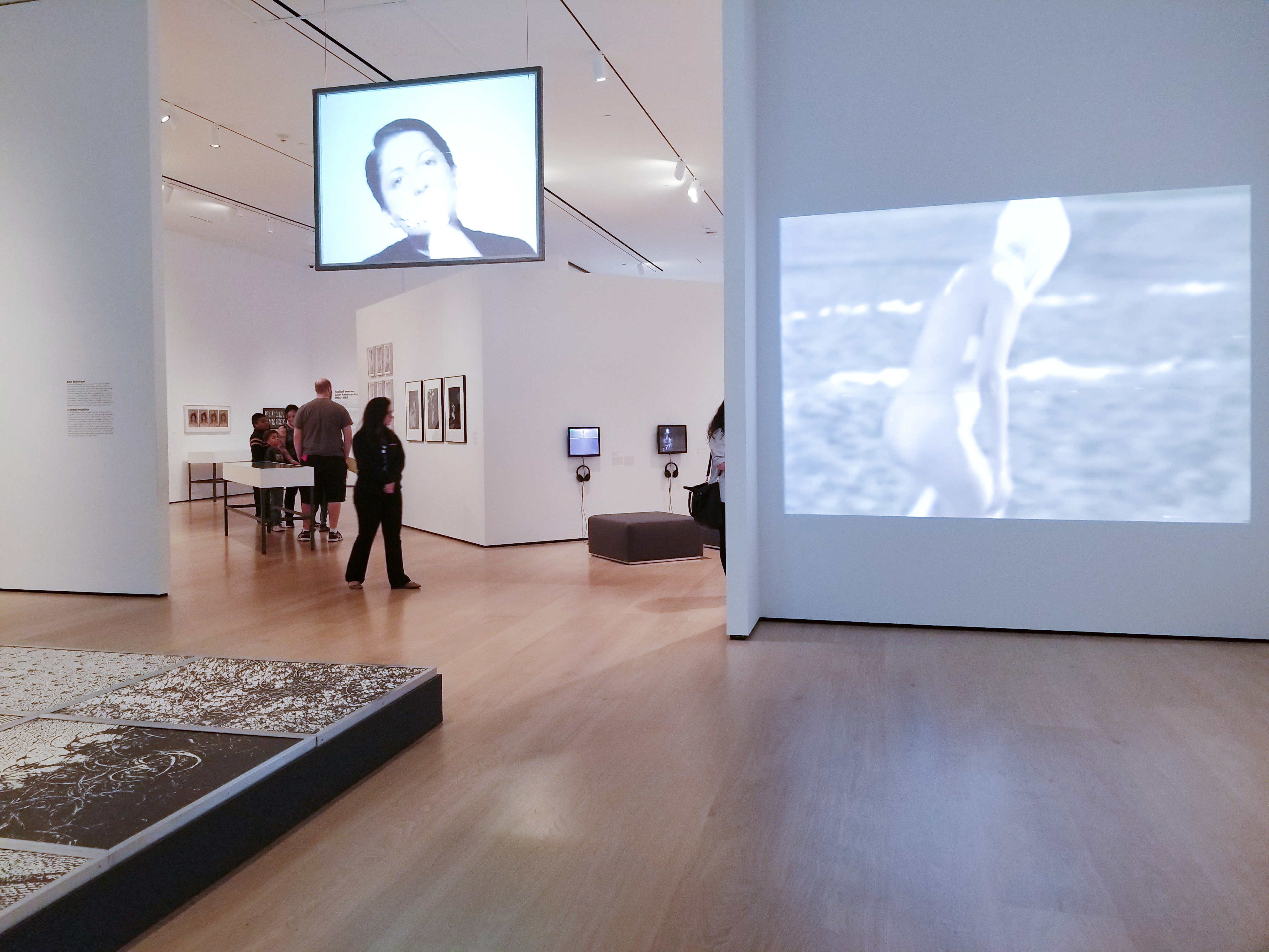 Installation view of Radical Women: Latin American Art, 1960 - 1985 at the Hammer Museum, Los Angeles. Photo by Tempestt Hazel.