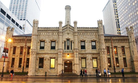 Lookingglass Theatre in the old Chicago Water Works building. Image courtesy of Chicago Sun Times.