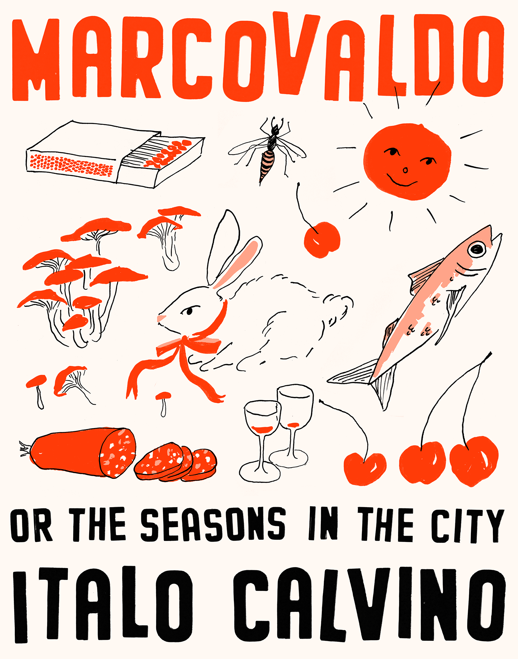 Marcovaldo, or the Seasons in the City poster print by Liana Jegers