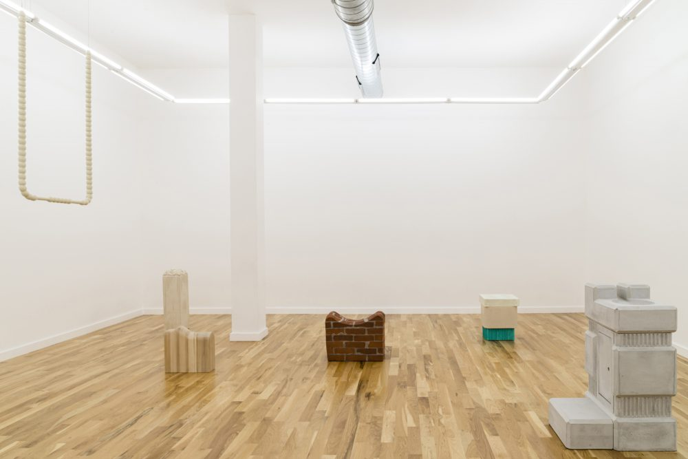 Image: Installation view of Gordon Hall's Chicago exhibit USELESSNESS, courtesy Document Gallery.