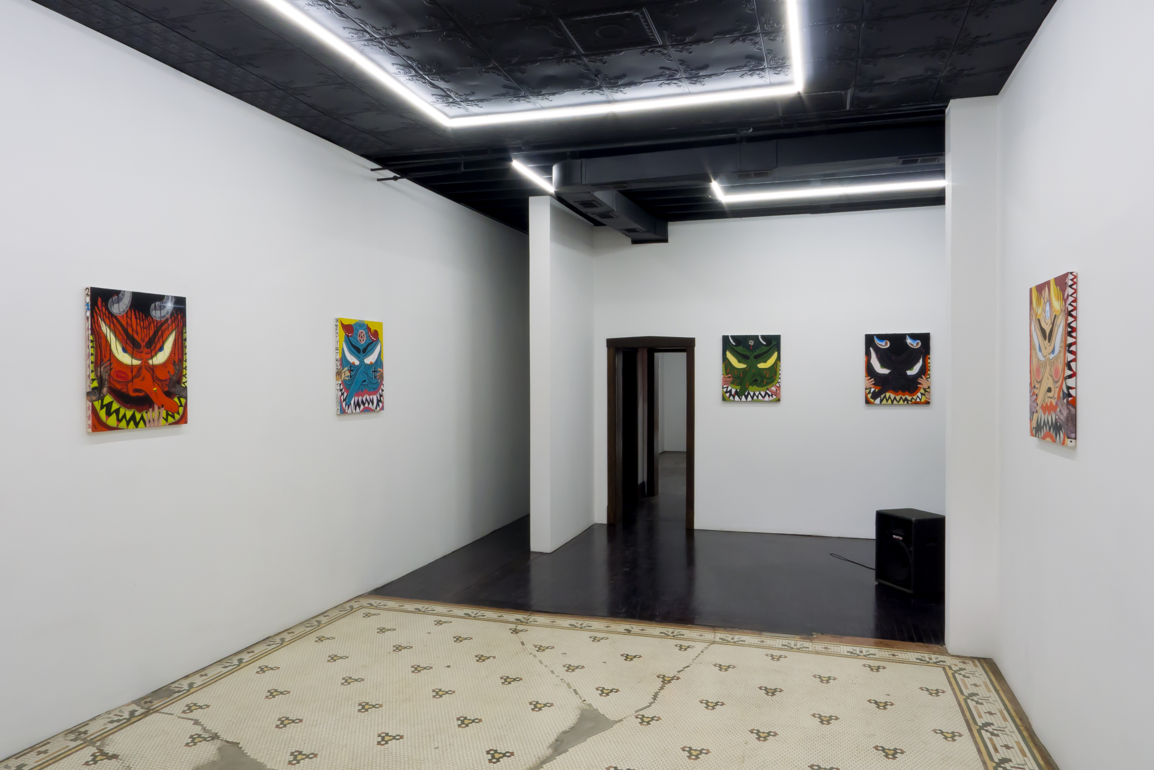 "Image: Installation view of Cameron Spratley's exhibition ""730"" at M. LeBlanc"