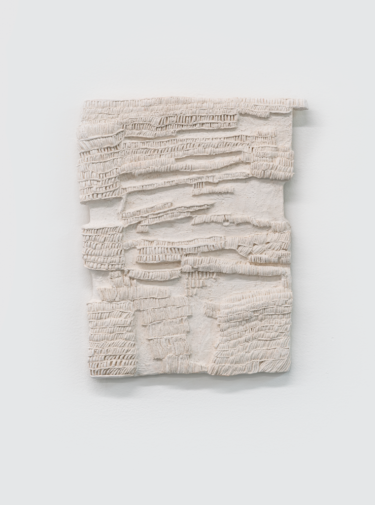 Image: A City Unaware of Its Own Existence by SaraNoa Mark, 2021, carved clay. Photo by Tran Tran. Courtesy of Goldfinch Gallery and the artist.