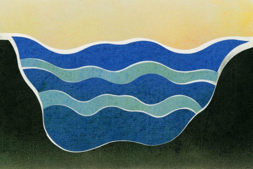 Image: An illustration of an aquifer by Ryan Edmund Thiel.