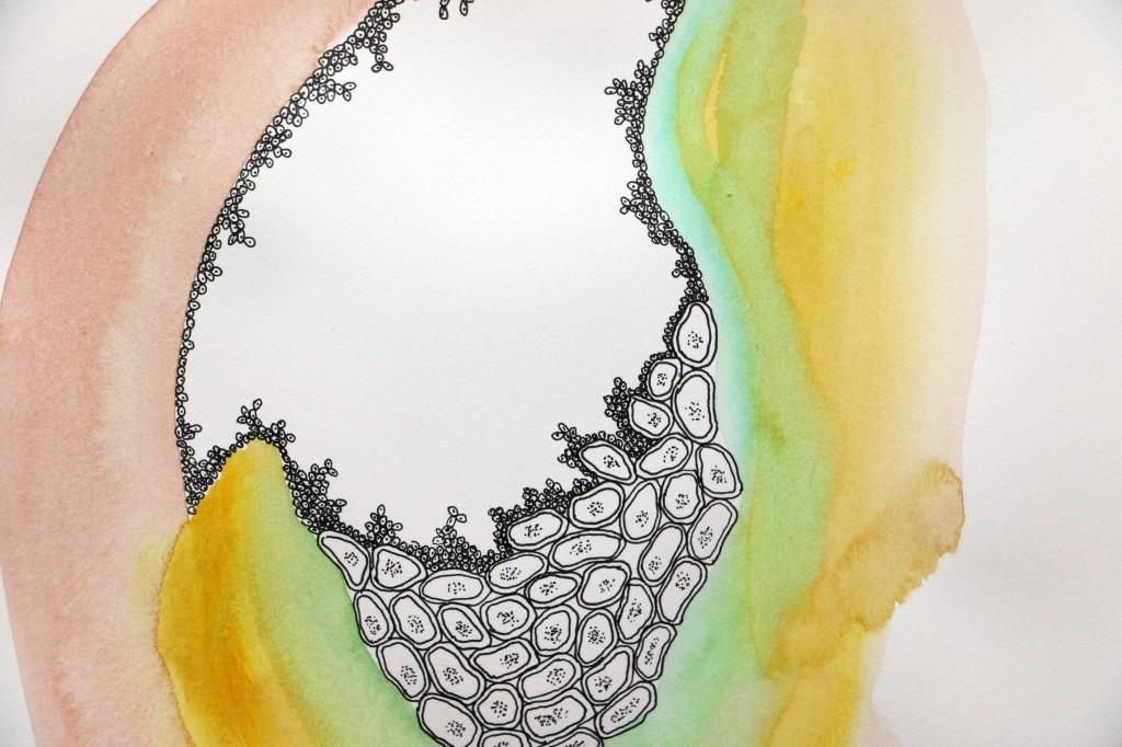 # 5 de la serie Hematoma, Maya Mackrandilal, 2014.