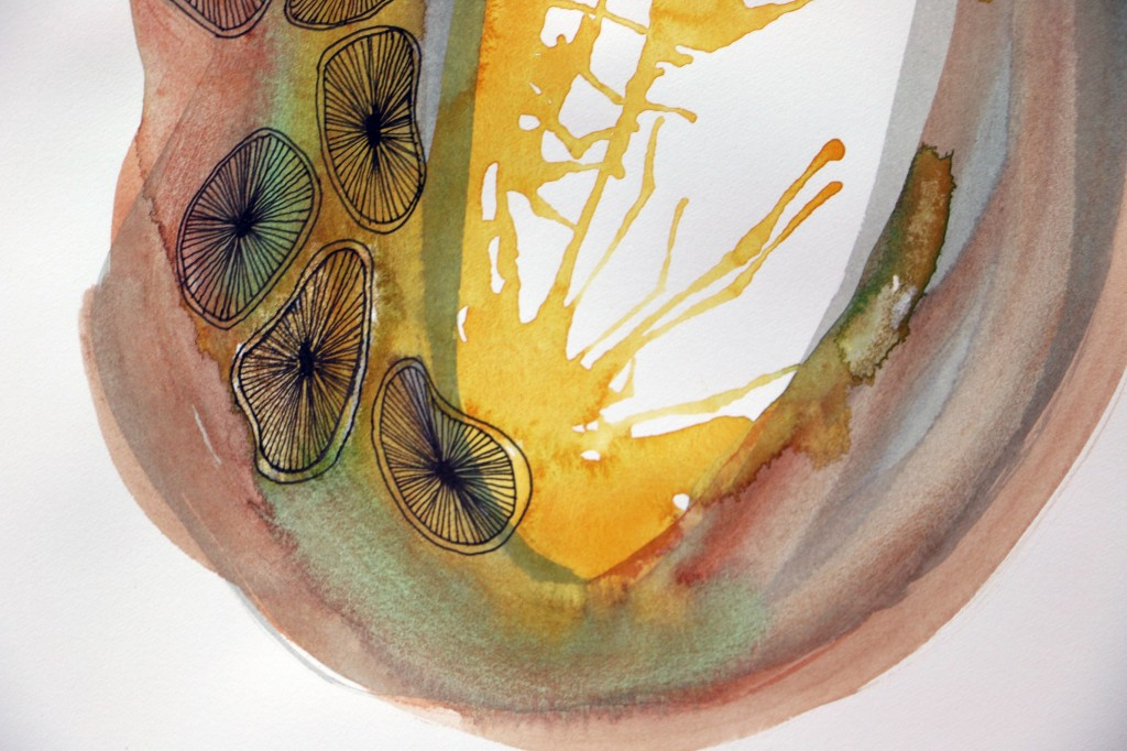 # 6 de la serie Hematoma, Maya Mackrandilal, 2014.